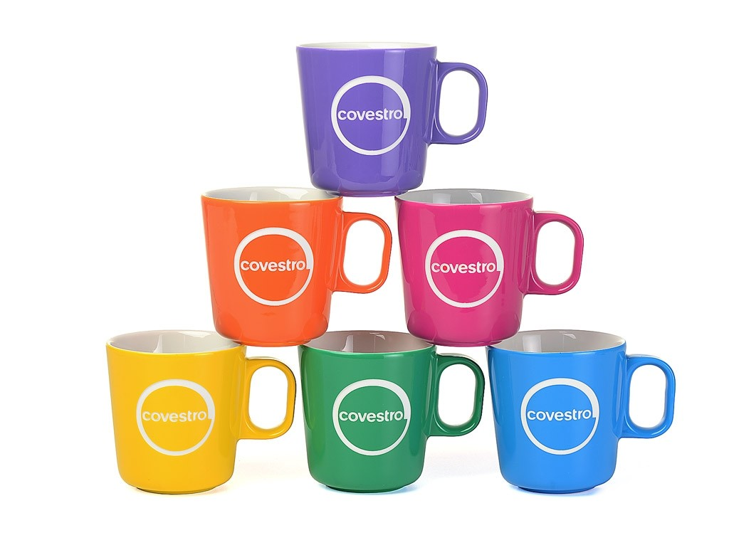6 Covestro Kaffeebecher