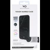 White Diamonds Tough Marble Black Case for iPhone XS/X