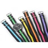 Hochwertige Covestro Uhr mit 6 Wechselarmbändern