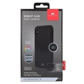 Black Rock Robust Case Real Carbon Black for iPhone XS/X